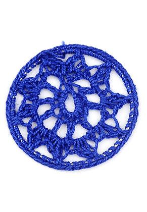 www.sayila.fr - Pendentif/entre-deux en textile capteur de rêves 46mm