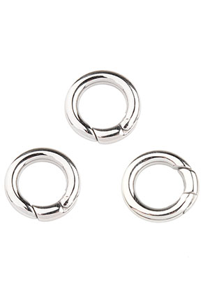 www.sayila.com - Stainless steel EasyClip ring/connector/clasp 18x3,5mm
