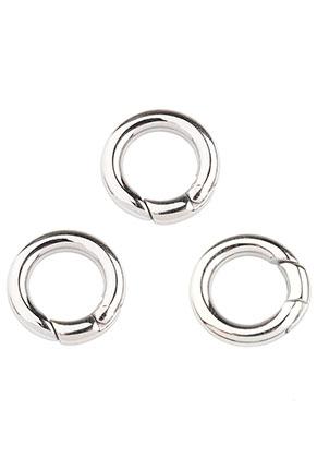 www.sayila.nl - Roestvrijstalen EasyClip ring/tussenzetsel/sluiting 18x3,5mm