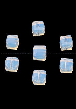 www.sayila.es - Abalorios de vidrio cristal cubo con facetas 6mm