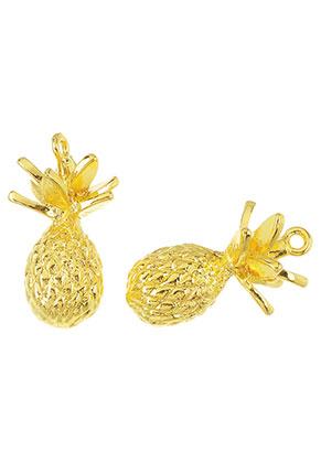 www.sayila.com - Metal pendants 3D pineapple 30x16mm