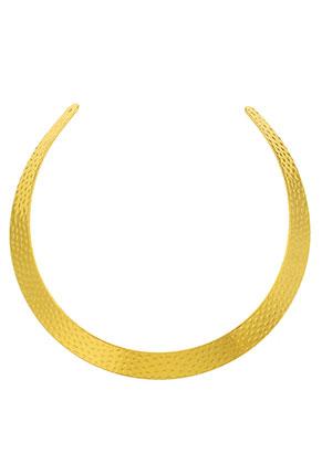 www.sayila.be - Metalen onderdeel voor het maken van een halsketting/spang 36x1,4cm