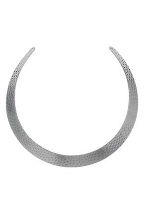 www.sayila.com - Metal component to make a necklace/neck bangle 36x1,4cm