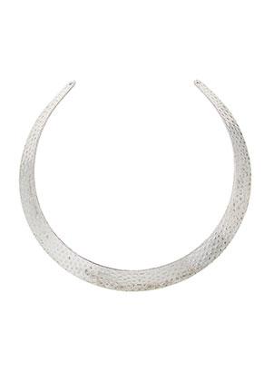 www.sayila.nl - Metalen onderdeel voor het maken van een halsketting/spang 36x1,4cm