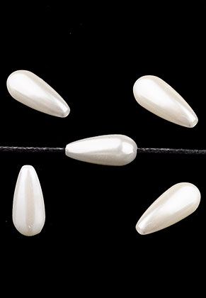 www.sayila.com - Synthetic beads drop 17x8mm (± 35 pieces)