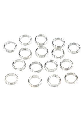 www.sayila.nl - Metalen dubbele ringetjes 5mm (± 70 st.)
