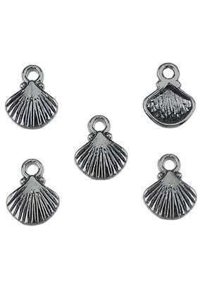www.sayila.nl - Metalen hangers/bedels schelp 12x9mm