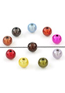 www.sayila-perlen.de - Mix Kunststoff miracle beads rund 12mm (± 11 St.) - D26344