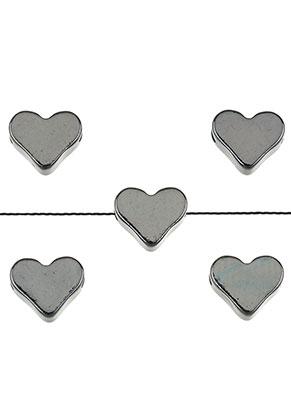 www.sayila.com - Brass beads heart 7x6mm