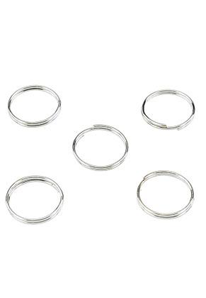 www.sayila.nl - Metalen dubbele ringetjes 12mm (± 40 st.)