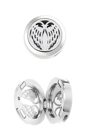 www.sayila.com - Stainless steel slide/perfume locket DQ 25mm
