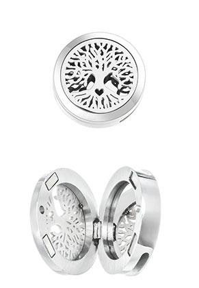 www.sayila.es - Corredera/medallón de perfume de acero inoxidable DQ 25mm