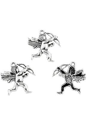 www.sayila.nl - Metalen hangers Cupido 29x26mm