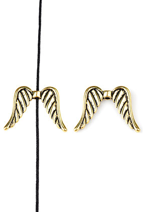 www.sayila.com - Metal bead wings 32x24mm