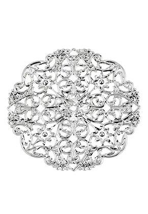 www.sayila.com - Metal pendants/connectors filigree 50mm