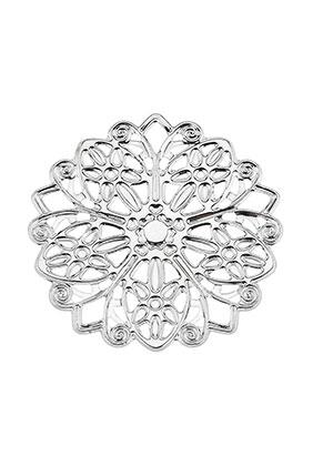 www.sayila.com - Metal pendants/connectors filigree 45mm