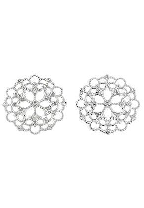 www.sayila.com - Metal pendants/connectors filigree 30mm