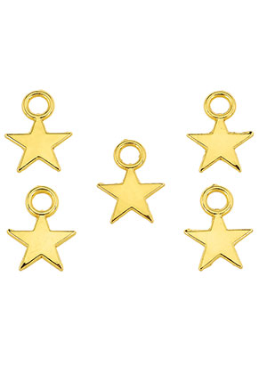 www.sayila.com - Metal pendants/charms star 11x8mm