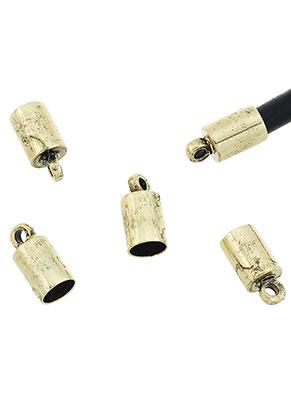 www.sayila.com - Brass caps with eye 10x5mm