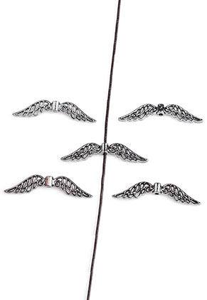 www.sayila.com - Metal beads wings 32x7,5mm
