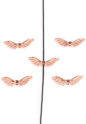 www.sayila.nl - Metalen kralen vleugels 24x8mm