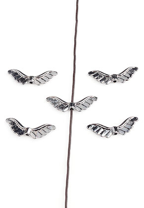 www.sayila.com - Metal beads wings 24x8mm