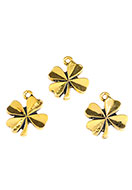 www.sayila.com - Metal pendants/charms four-leaf clover 18x15mm - D26774