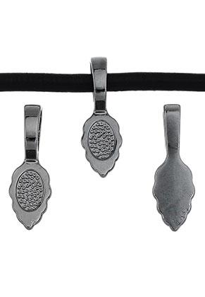 www.sayila.es - Colgantes de metal ojo para pegar (glue on bail) hoja 26x8,5mm para piedra adhesiva