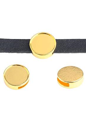 www.sayila.nl - DoubleBeads EasySlide schuifkralen 17,5x5,5mm met kastje voor 15mm plaksteen