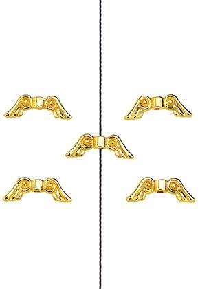 www.sayila.nl - Metalen kralen vleugels 21x8mm