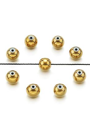 www.sayila.com - Natural stone beads Hematite round 4x3mm