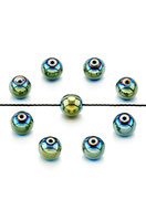 www.sayila.com - Natural stone beads Hematite round 6mm - D26998