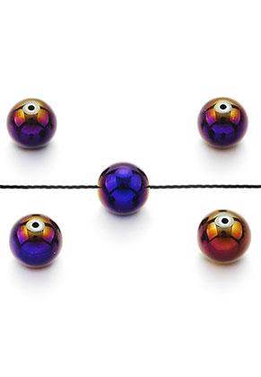 www.sayila.com - Natural stone beads Hematite round 8mm
