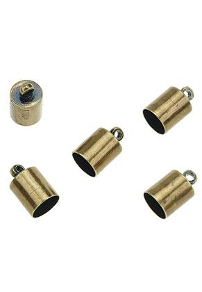 www.sayila.com - Brass caps with eye 11x7mm
