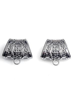 www.sayila.es - Anillo para pañuelos/abalorio de metal con ojo 40x38x17mm