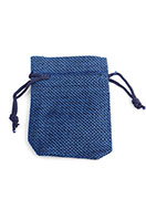 www.sayila.com - Textile gift bags 9x6,5cm - D27343