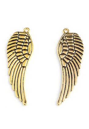 www.sayila.com - Metal pendants wing 50x16mm