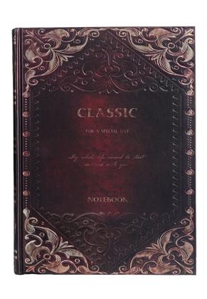 www.sayila.com - Notebook with gold coloured decoration 25x18,5x2,5cm