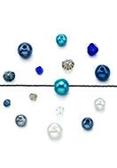 www.sayila.nl - Mix glaskralen kristal/kunststof parels 4-8x3,5-8mm (± 150 st.) - D27444