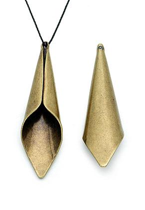 www.sayila.com - Brass caps 47x14x9mm