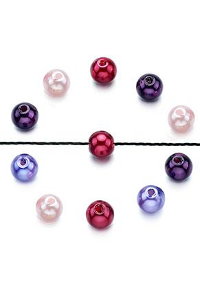www.sayila.nl - Mix kunststof parels rond 6mm (± 170 st.)