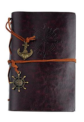 www.sayila.fr - Carnet de notes avec rose des vents 18,5x12,5cm