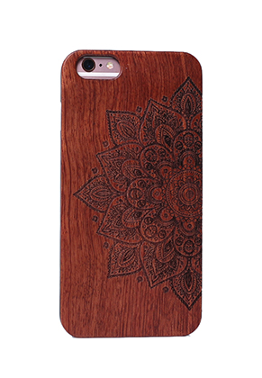 www.sayila.com - Wooden back cover phone case for iPhone 7 / iPhone 8 14x6,9x1cm