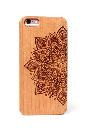www.sayila.com - Wooden phone case for iPhone 7 / iPhone 8 14x6,9x1cm