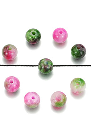 www.sayila.com - Natural stone beads Persian Jade round 6mm