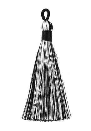 www.sayila.fr - Pompon en textile 9x1,5cm