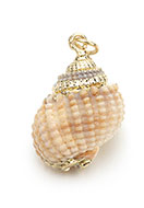 www.sayila.com - Shell pendant with metal eye 25-30x10-16mm - D28372