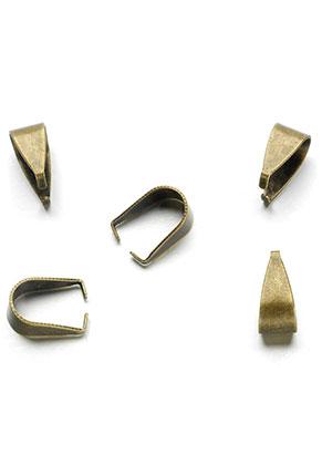 www.sayila.nl - Brass klemmetjes voor hangers 9,5x5mm (± 20 st.)