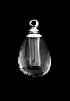 www.sayila.fr - Bouteille en verre avec bouchon en métal 20x11x9mm