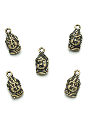 www.sayila.com - Metal pendants/charms Buddha 16x8mm